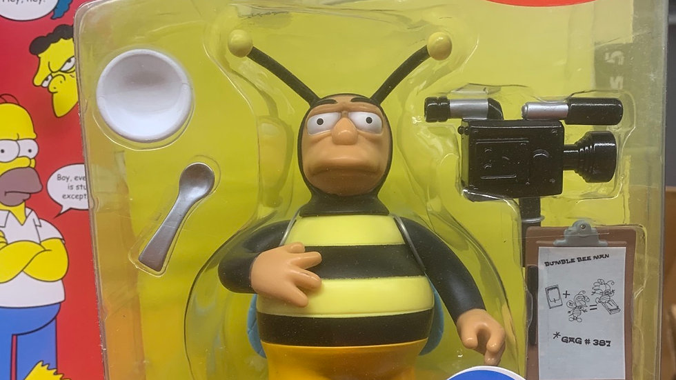 Simpson's figure - Bumblebee man