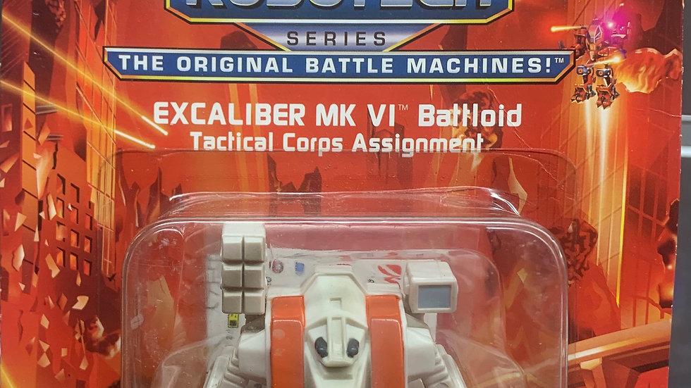 "Eco Squad Robotech 3"" Excalibur Mk VI Battloid tactical"