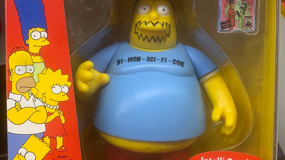 Simpson's figure - Convention Comic Book Guy