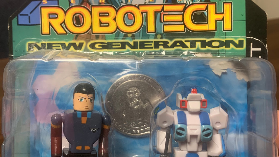 Robotech New Generation Scott Bernard/Alpha Fighter  magnetic feet
