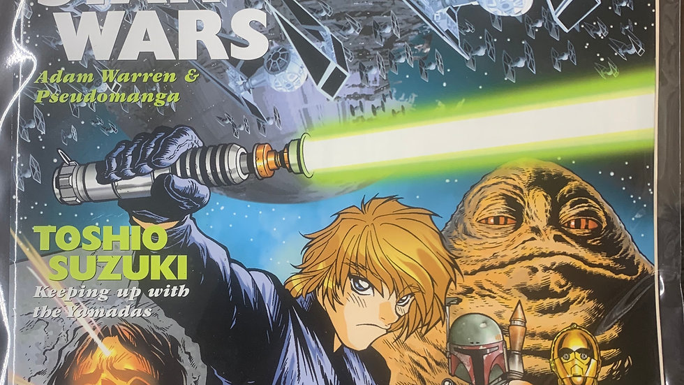 Manga Max Star Wars 1999 volume 6