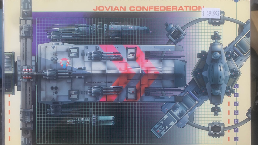 Jovian Chronicles project ships of the fleet rpg 2