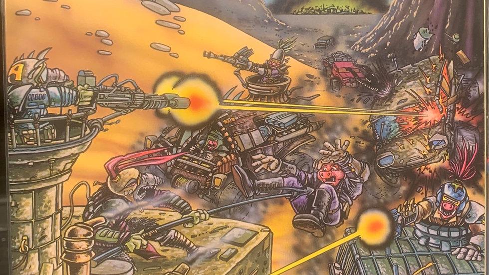 Palladium books RPG TMNT Roadhogs
