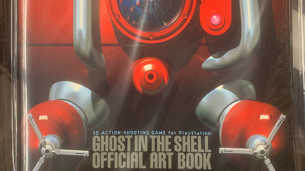 Ghost in the Shell Offical Art Book 3D action shooting for PS