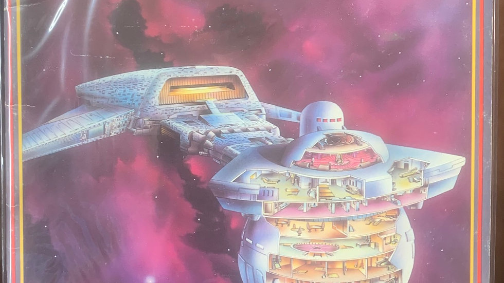 Star Trek RPG Klingon ship recognition manual
