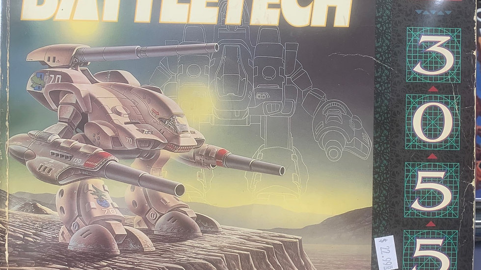 Battletech RPG Technical Readout 3055  8619
