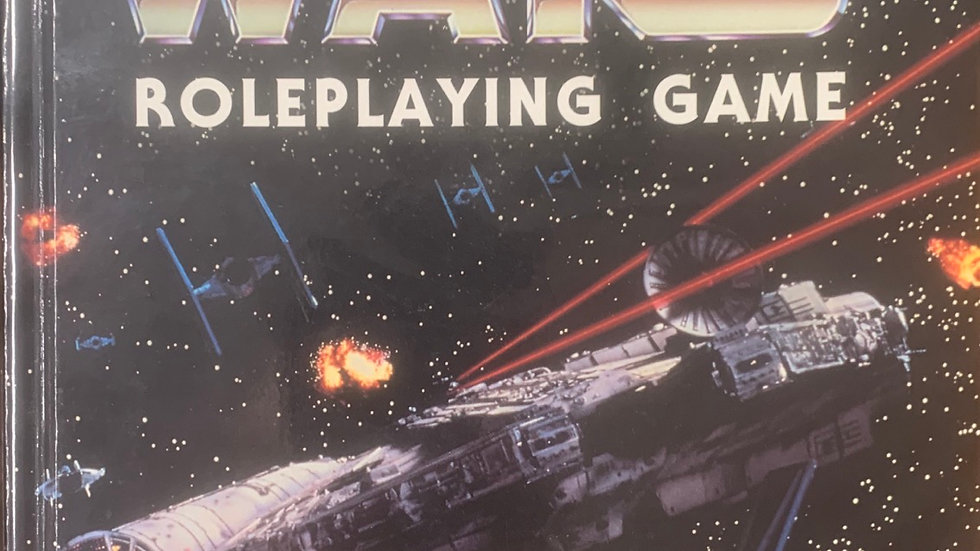Star Wars RPG 2nd edition Revised and Expanded