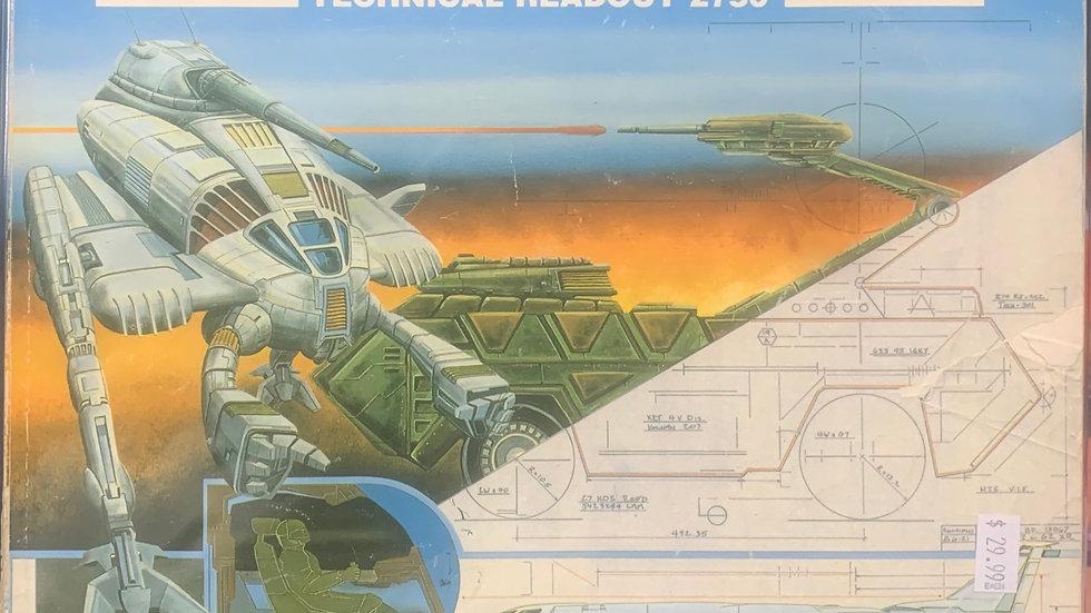 Battletech RPG Technical Readout 2750   8613