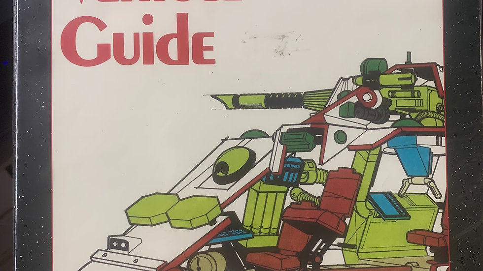 2300 AD RPG Ground Vehicle Guide