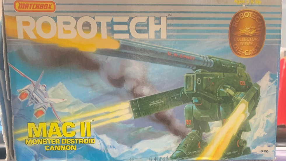 1985 Matchbox Robotech MAC II Monster Destroid Cannon