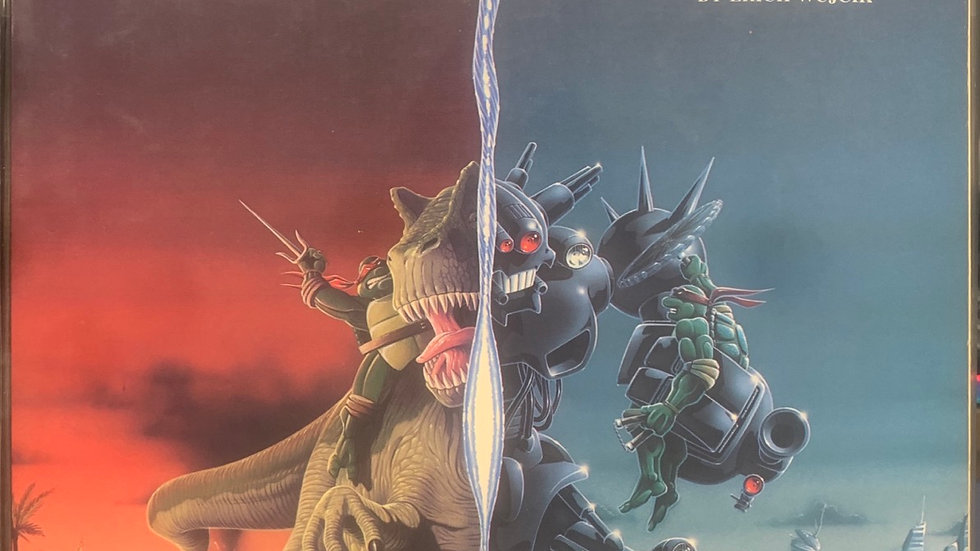 Palladium books RPG TMNT transdimensional