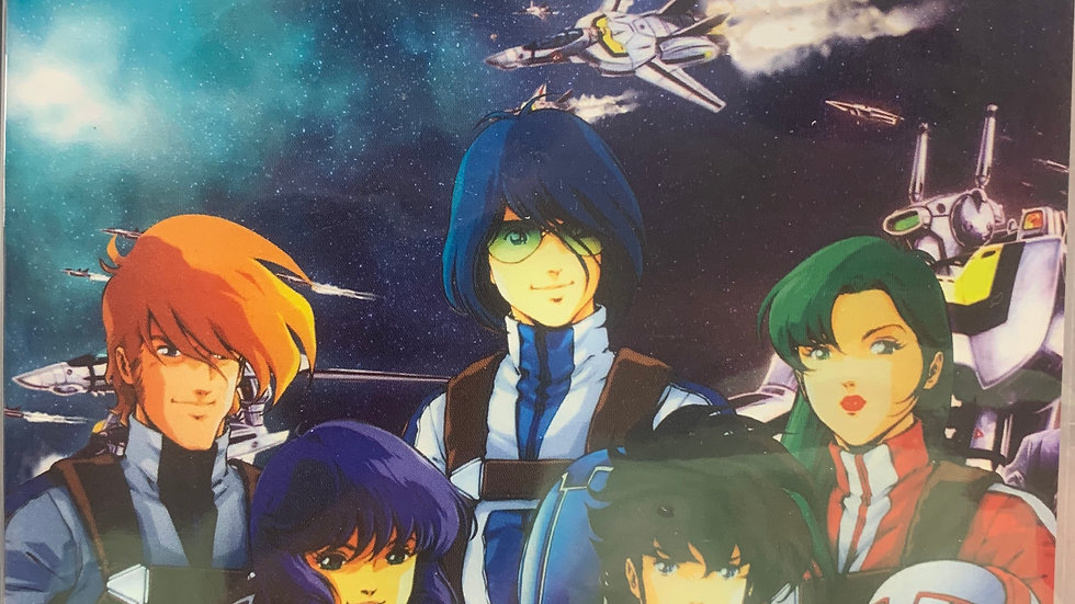 Super Dimension Fortress Macross dvd epi 1-36