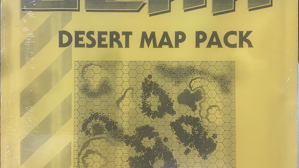 Heavy Gear RPG Desert Map pack sealed