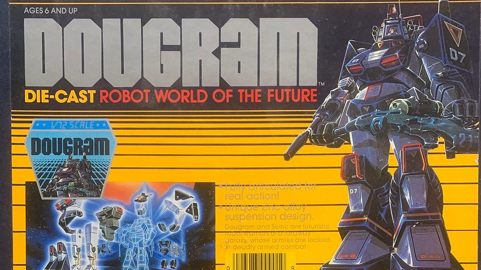Vintage Dougram Combat Armor 1/72 dual model mib