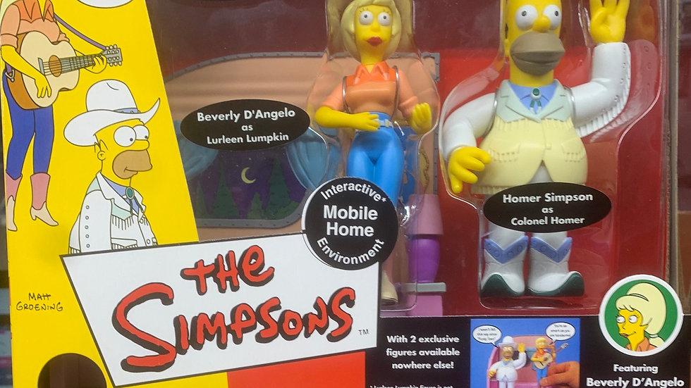 Simpson's figure - Mobile Home Environment set