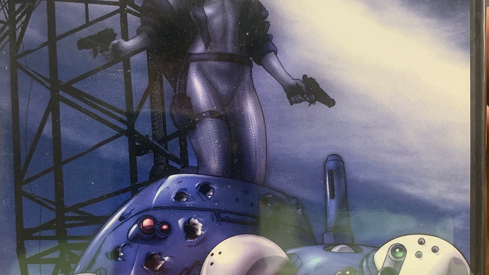 Ghost in the Shell stand alone complex vol 1 dvd