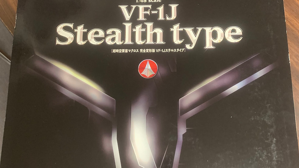 Macross VF-1J Stealth type Yamato 1/48