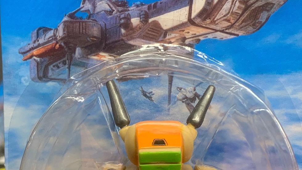 Robotech super deformed figurines VF-1D