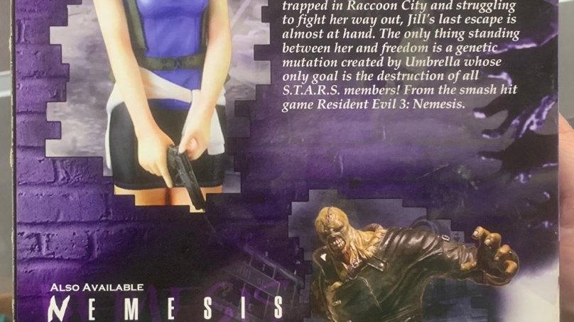 """Resident Evil 3 nemesis Jill Valentine 11"""" vinyl statue"""
