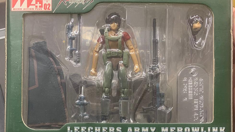 Microman MAP-02 Leechers Army Merowlink w/bike