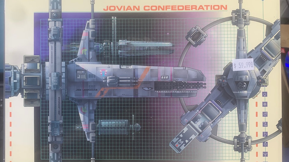 Jovian Chronicles project ships of the fleet rpg one