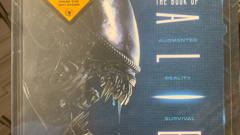 The Book of Alien :  augmented reality survival