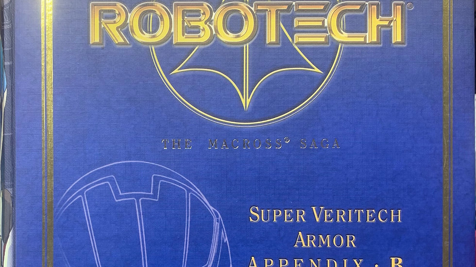Robotech Masterpiece Collection VF-1J Max Sterling Super Veritech Armor