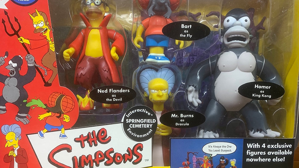 Simpson's figure - Springfield Cemetery set
