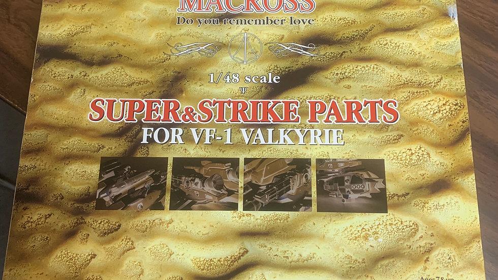 Macross Super & Strike Parts for VF-1 Valkyrie 1/48