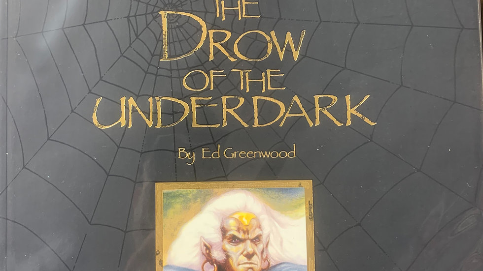 Dungeons & Dragons Forgotten Realms RPG The Drow of the Underdark