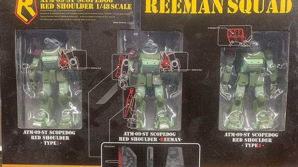 Actic Gear AG-EX07 Reeman Squad 1/48 scale