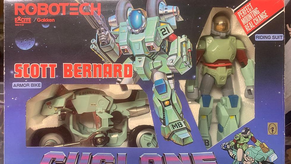 Robotech Armored Cyclone VR-052F Scott Bernard