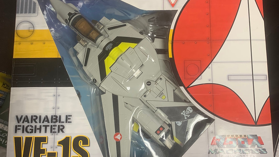Macross VF-1S Valkyrie Variable Fighter Roy Focker 1/55