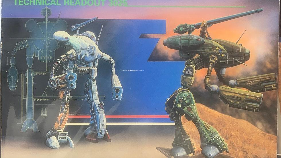 Battletech RPG technical readout 3025  8603
