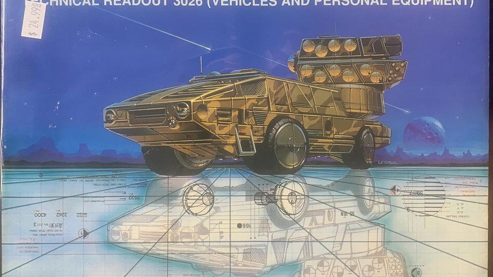 Battletech RPG Technical Readout 3026 vehicles