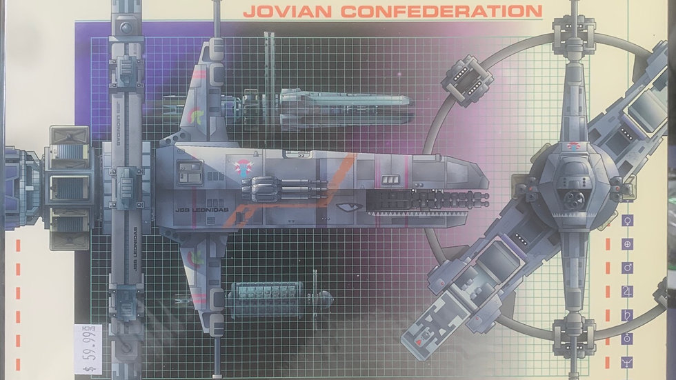 Jovian Chronicles RPG Confederation vol 1