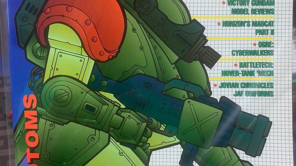 Mecha press anime model and game magazine #13