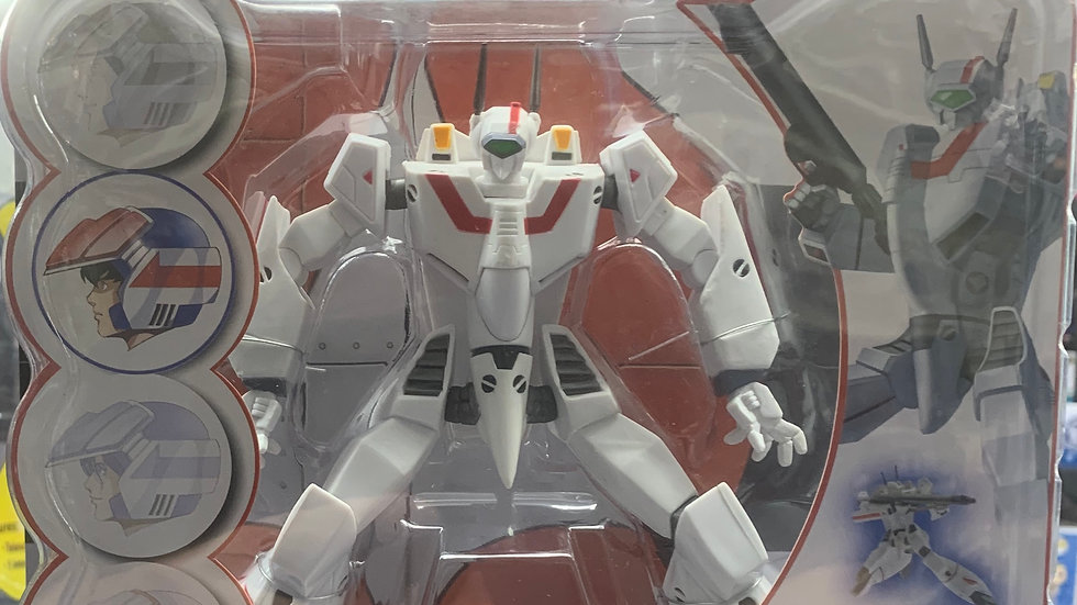 Robotech Veritech Super Poseable VF-1J Rick Hunter moc