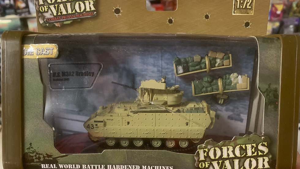 Forces of Valor die cast US M3A2 Bradley 1:72