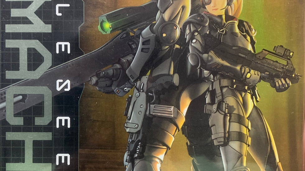 Appleseed Ex Machina dvd 2 disc collector edition