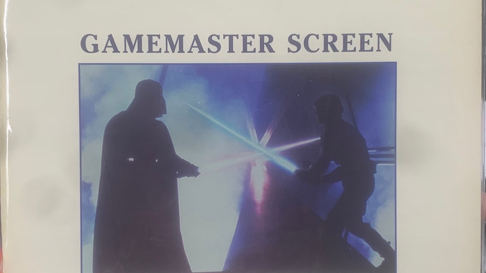 Star Wars RPG Gamemaster Screen