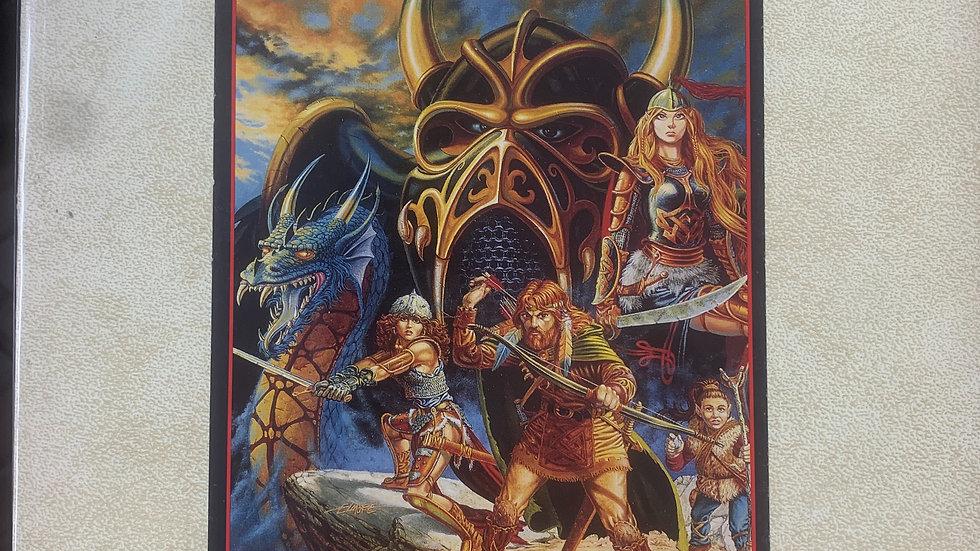 Dungeons & Dragons  RPG Dragon Lance players guide