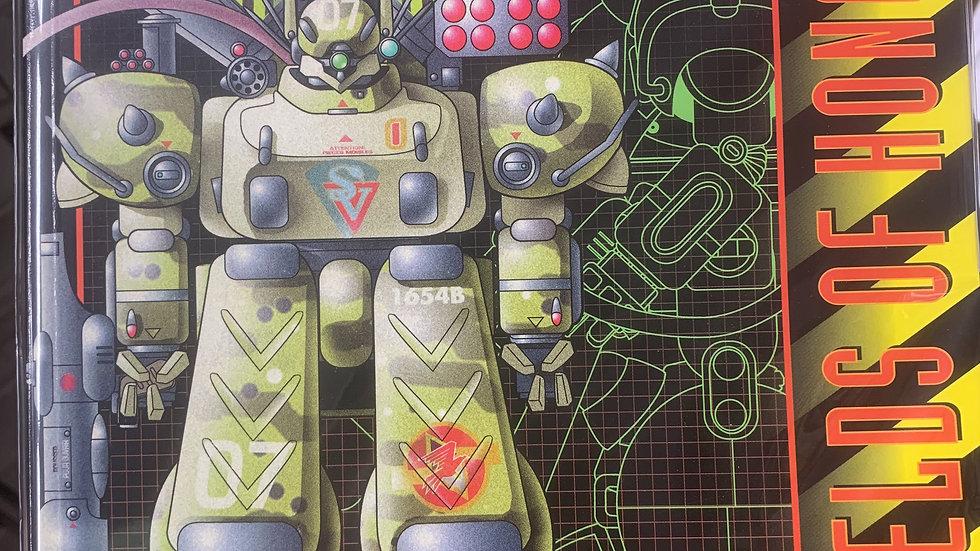 Heavy Gear RPG Gears &  Striders shield of honor