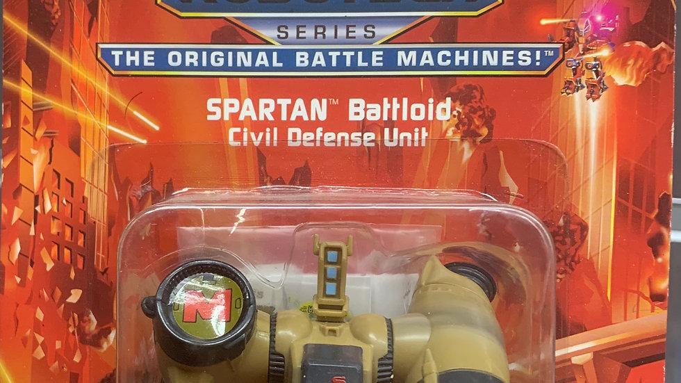 """Eco Squad Robotech 3"""" Spartan Battloid"""