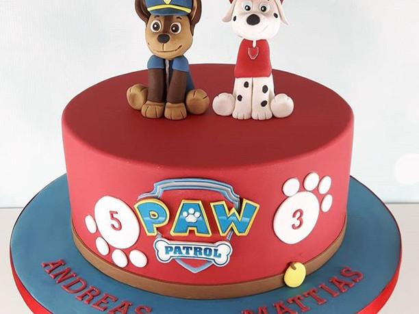 Paw patrol kage! Ha en rigtig god weeken