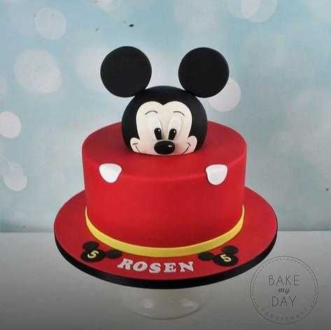 Mickey og Minnie Mouse er to af vores me