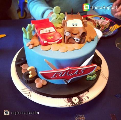 #carscake #cars #mcqueencake #birthdayca