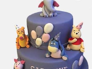 #winniethepoohcake #bakemyday #partycake