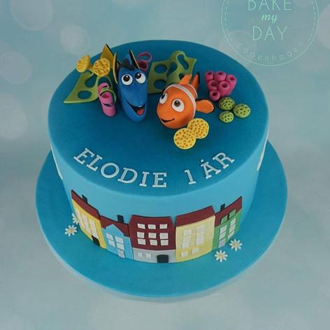 Dory og Nemo finder Nyhavn. Tusind tak f