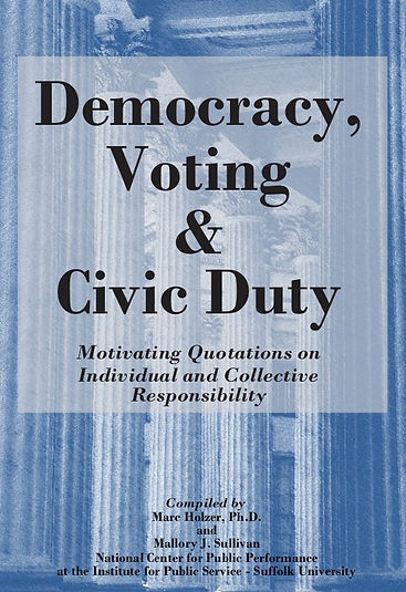 Democracy, Voting & Civic Responsibility